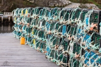 Lobster Traps in Hackett's Cove